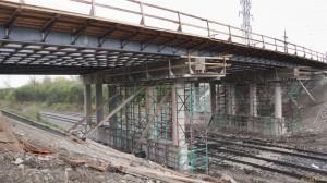 bridge under construction image